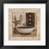 Framed Feng Shui Bath II