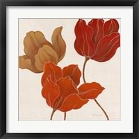 Austin's Tulips I Framed Print