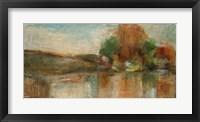 Framed Renaissance River II