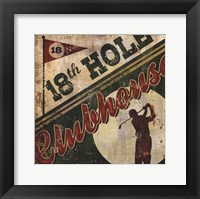 Clubhouse Framed Print