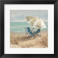 Summer Vacation II Framed Print