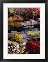 Framed Garden Pond