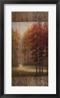 Framed October Trees I