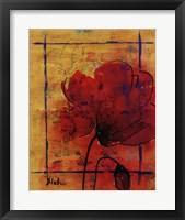 Artistic Poppy II Framed Print