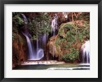 Framed Navajo Falls