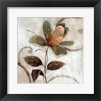 Framed Floral Souvenir I
