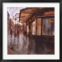 Gran Cafe Framed Print