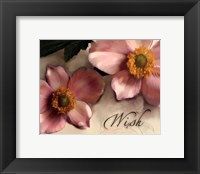 Wish Framed Print