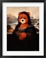Framed Mona Bear