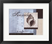 Scrapbook Shell II Framed Print