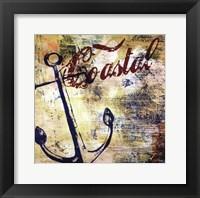 Framed Nautical Motif I