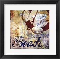 Framed Nautical Motif II