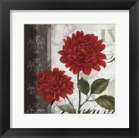 Etude en Rouge I - mini Framed Print