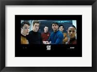 Framed Star Trek XI - style Q