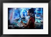 Framed Star Trek XI - style AI