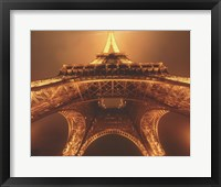 Framed Beneath the Eiffel Tower