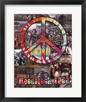 Framed Woodstock Collage