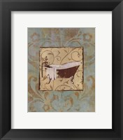 Bathtub Parfum II Framed Print