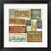 Framed Believe & Hope II