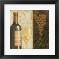 Framed Wine List II