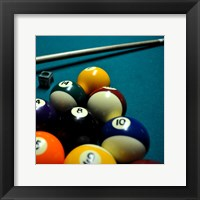 Framed Pool Table II