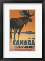 Framed Canada - For Big Game