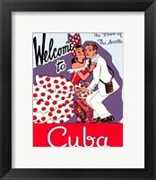 Framed Cuba