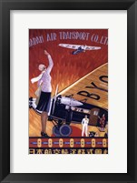 Japan Air Transport Framed Print
