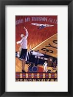 Framed Japan Air Transport