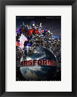 Framed Transformers - Canadian - style O