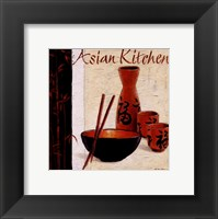 Framed Asian Kitchen