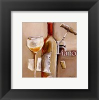 Framed Il Vino Bianco