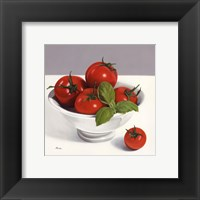 Italian Colours Framed Print