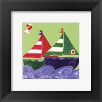 Framed Two Ships
