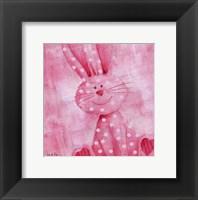 Framed Bouncing Bunny