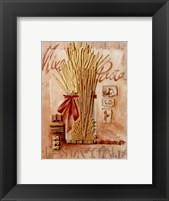Mixed Pasta Framed Print