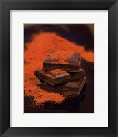 Chili Chocolate Framed Print