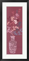Framed Pink Blossom Vase
