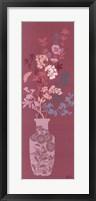 Pink Blossom Vase Framed Print