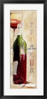 Framed Le Vin Du Mois