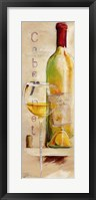 Framed Le Vin de L'Ete