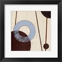 Clock Chime - square Framed Print