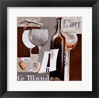 Framed Le Monde