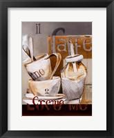 Framed Caffe Crema
