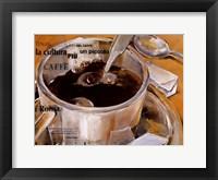 Framed Un Piccolo Caffe