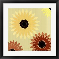 Framed Jewel Sunflower