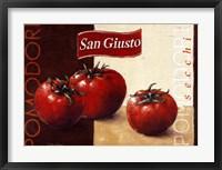 Pomodori San Giusto Framed Print