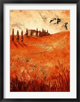 Montalcino Framed Print