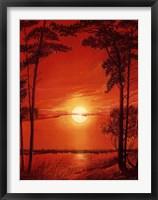 Framed Sun Glow