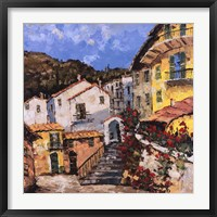 Port To Lucca II Framed Print